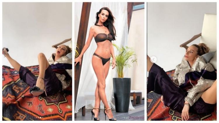 Российская КВНщица и телеведущая из Камеди Вумен Екатерина Варнава горячие интим фото