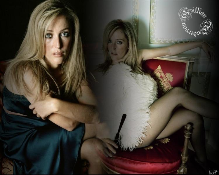 Британская актриса из Секретных Материалов Джилиан Андерсон горячие интим фото