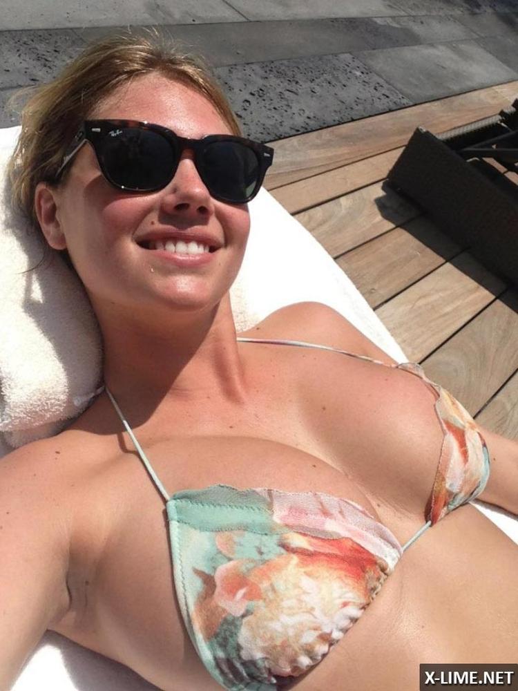 Американская модель и актриса Кейт Аптон горячие интим фото