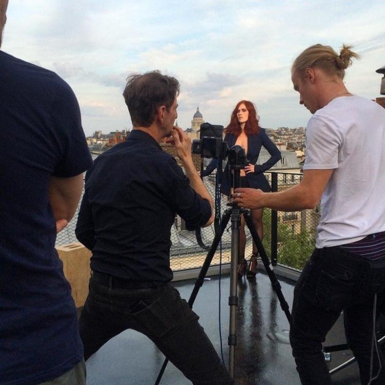 Французская актриса Одри Флеро горячие интим фото