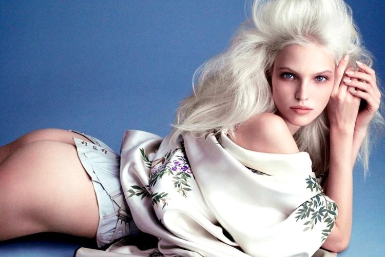 Российская топ-модель, актриса Саша Лусс горячие интим фото