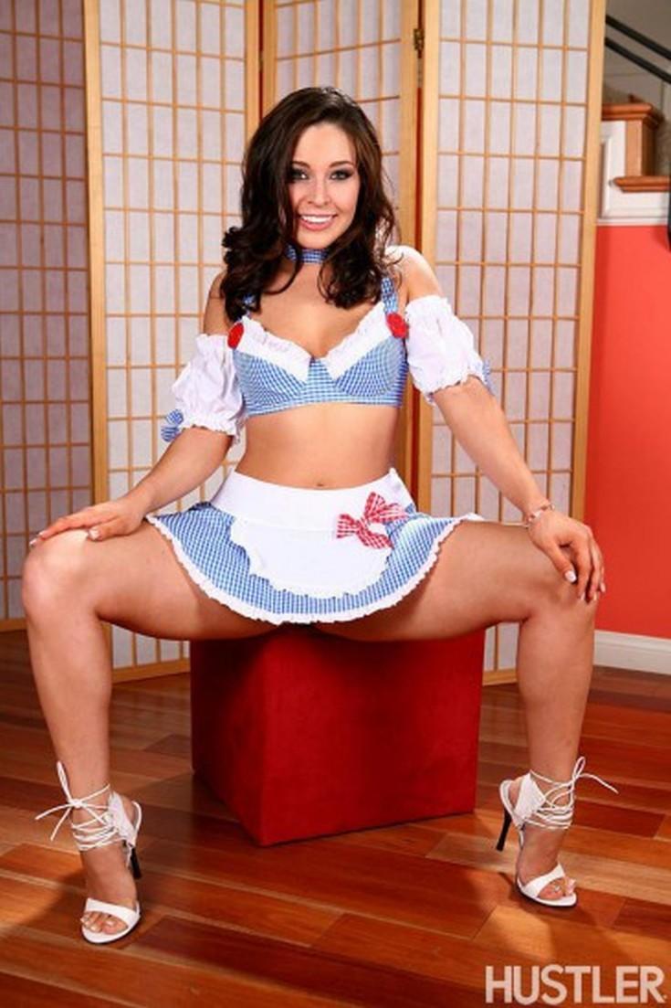 Эротическая модель и порноактриса Грейси Глэм горячие интим фото