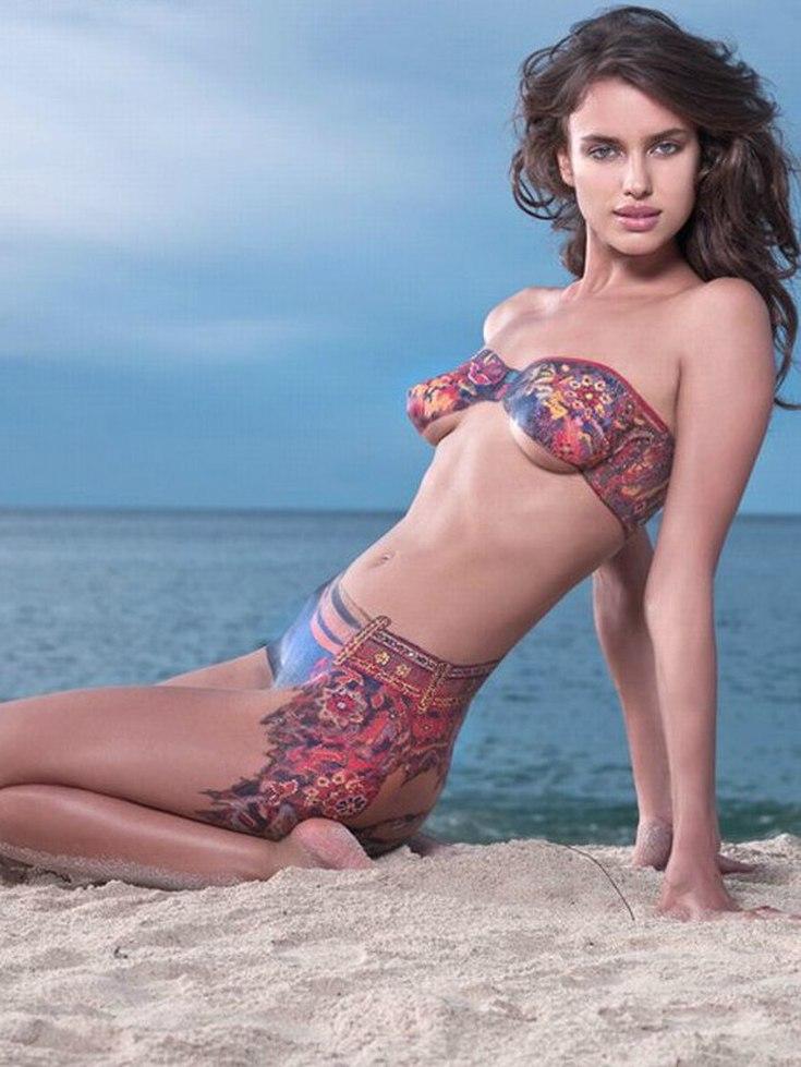 Модель Irina Shayk горячие интим фото