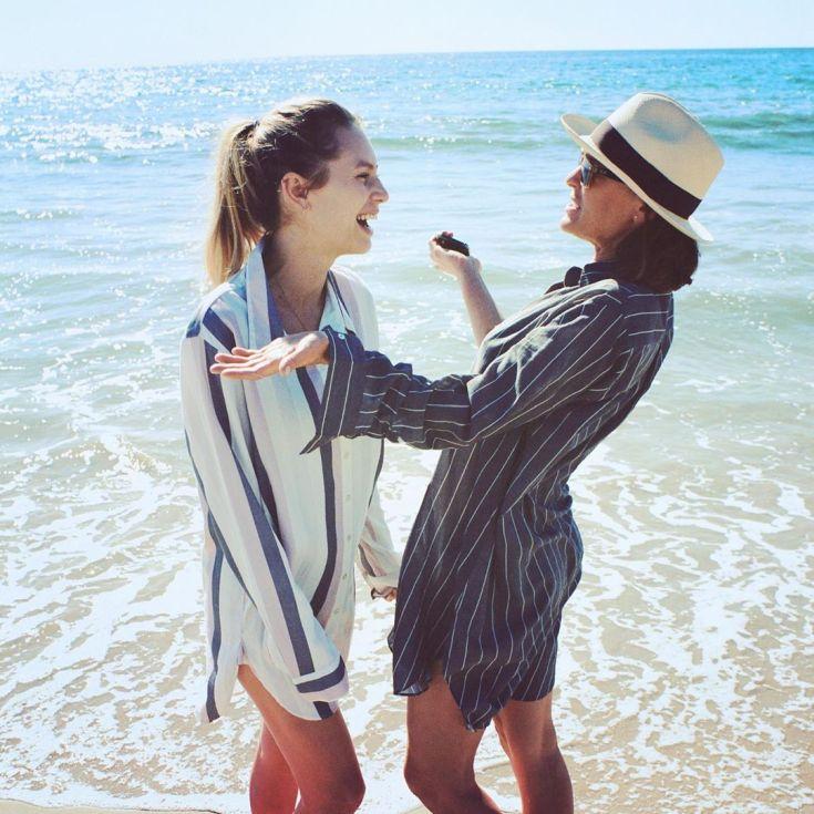 Американская модель Дилан Пенн горячие интим фото