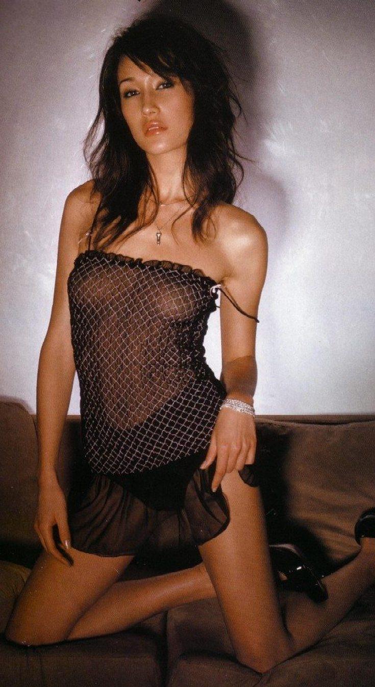Вьетнамская актриса и модель Мэгги Кью горячие интим фото