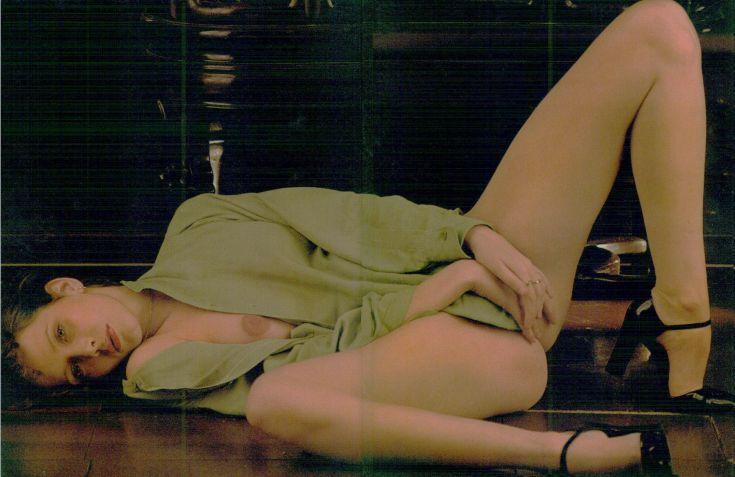 Нидерландская модель Сильвия Кристель горячие интим фото