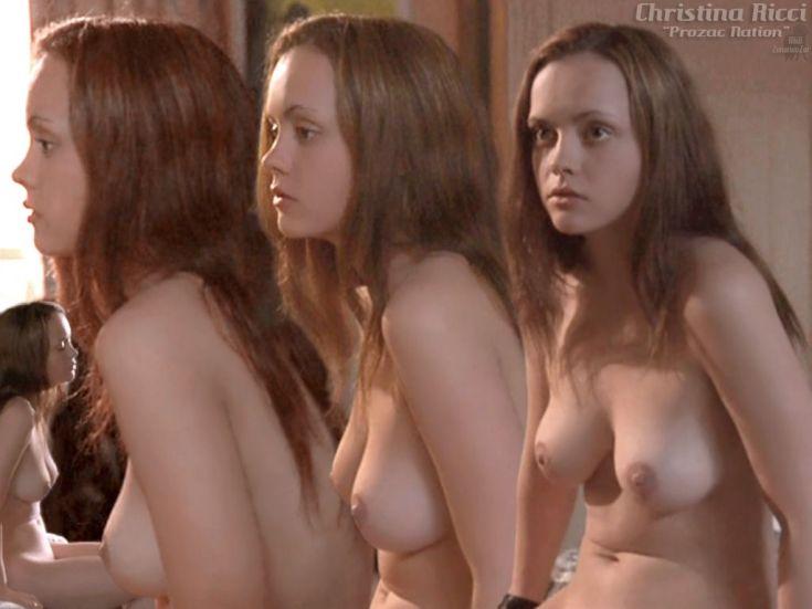 Американская актриса Кристина Риччи горячие интим фото