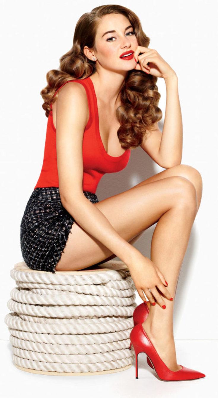Американская модель Шейлин Вудли горячие интим фото