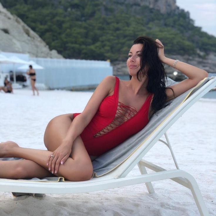 Российская певица Тутси Маша Вебер горячие интим фото
