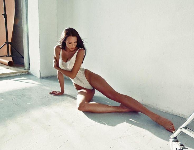 Российская модель Анастасия Решетова горячие интим фото