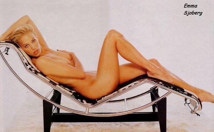 Шведская модель Эмма Сьоберг горячие интим фото