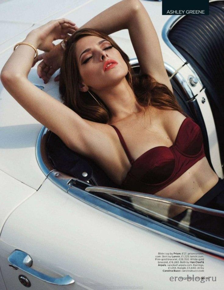 Американская актриса Эшли Грин горячие интим фото