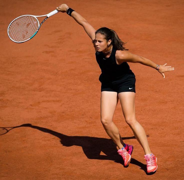 Российская теннисистка Дарья Касаткина горячие интим фото