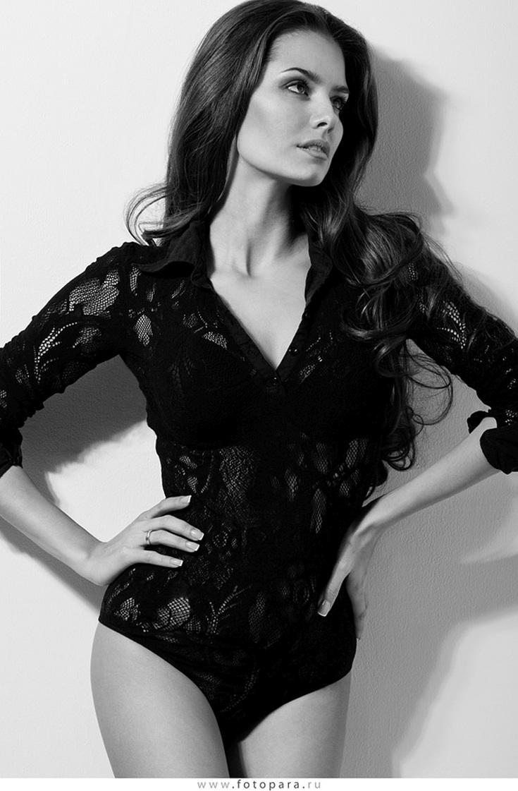 Российская модель Татьяна Высоцкая горячие интим фото